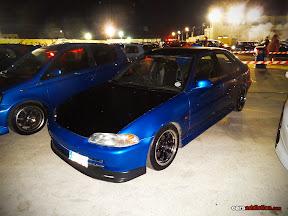Blue Honda Civic EG8