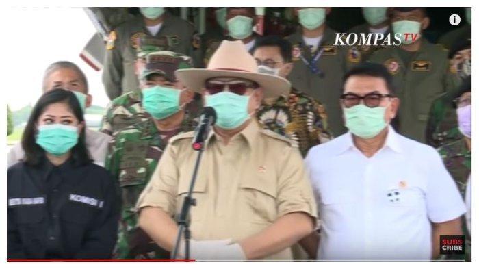 Prabowo Beberkan Alasan China Beri Bantuan 12 Ton APD untuk Virus Corona: Mereka Khawatir pada Kita