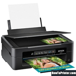 Reset Epson XP-211 printer use Epson reset program