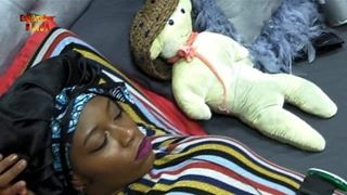 BBNaija: Khafi Replaces Gedoni With A Teddy Bear (Photo)