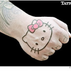 hand - Hello Kitty Tattoos Pictures