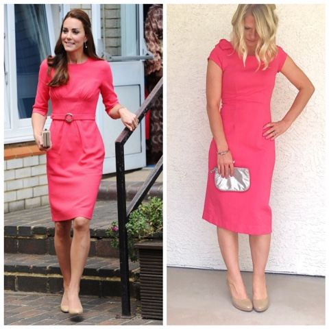 Thrifty Wife, Happy Life- Kate Middleton inspired look