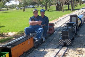 Photo: John Oglesby and Jack Haskins    SWLS at HALS 2009-1107