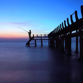 angler by Tri Hendro Kusumo - Landscapes Travel