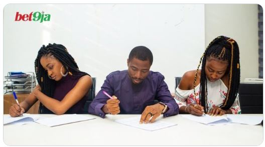 evicted Big Brother Naija housemates, Kim Oprah and Ella both got the opportunity to sign as affiliate ambassadors of Bet9ja,