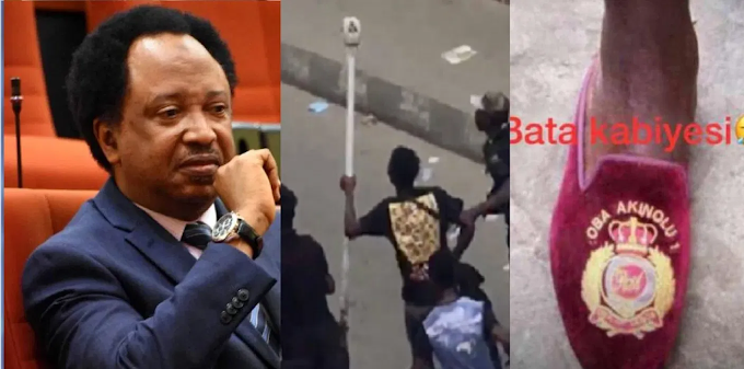 'Respect the throne, return staff of the Oba of Lagos, his shoe' – Ex-lawmaker, Shehu Sani Pleads