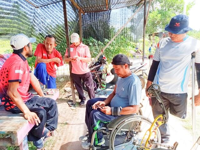 Andil Sukseskan Pilkada, NPC Kalsel Imbau Atlet Jalankan Prokes