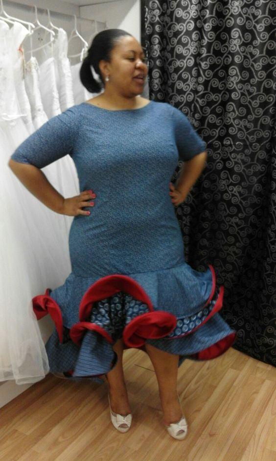 how to wear tswana wedding dresses 2018  styles 7