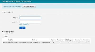 Pendaftaran SNMPTN 2013