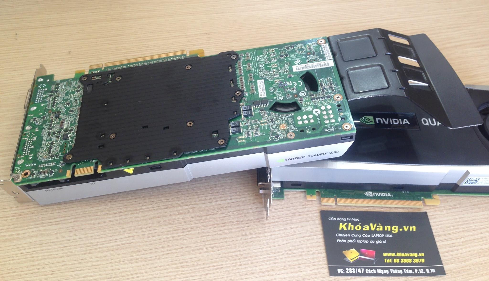 Card đồ họa Nvidia Quadro 5000