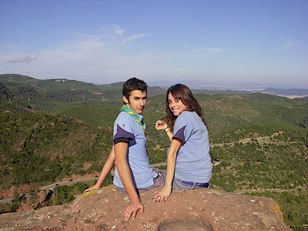 Sortida Castell Eramprunyà - Pioners 2009 - DSCN1003.JPG