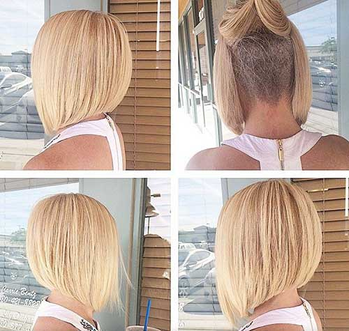 Awesome Short Stacked Bob Back View For Girls Fashion Qe Hairstyle Inspiration Daily Dogsangcom