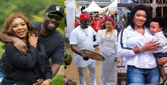 Obi Cubana's wife Ebere Iyiegbu Finally breaks silence on ritual claims on her Husband