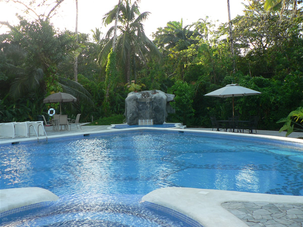 Pool at Tortuguera resort