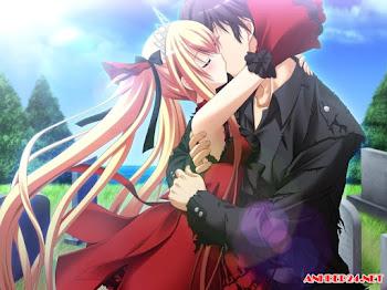 40 hình nền anime hôn nhau lãng mạn cực đẹp