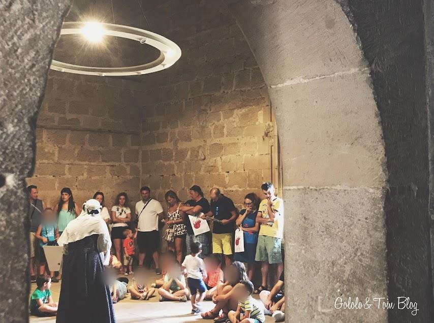 Visita teatralizada para niños en el Palacio Real de Olite