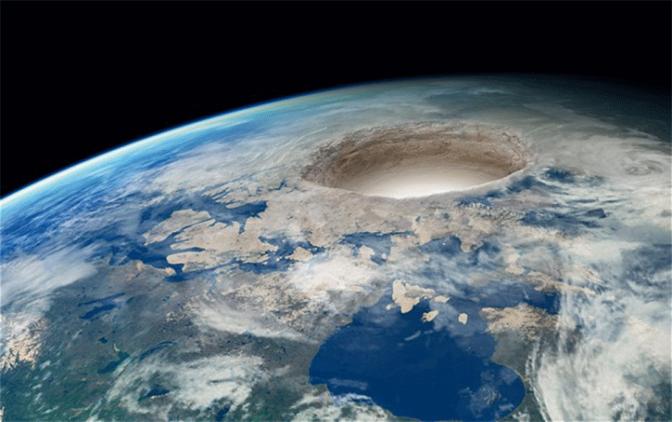 A Terra não é oca.