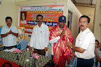T.N.K.Kumaresh EBST Trustee presenting Shawl to the Dr.S.Vadivel Murugan DMD, GEN.C.DIAP :: Date: Feb 17, 2008, 11:26 AMNumber of Comments on Photo:0View Photo