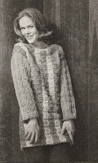 Striped Bulky Pullover Knitting Pattern