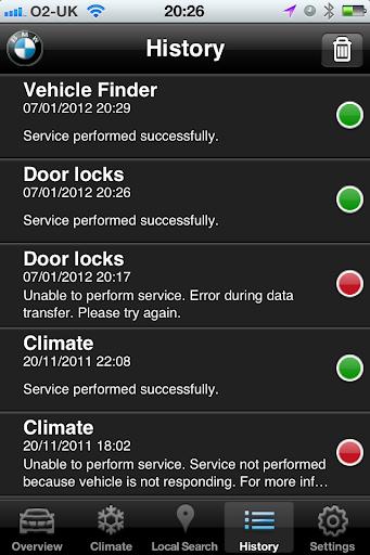 My BMW Remote' iPhone app - Page 6 - XBimmers | BMW X3 Forum