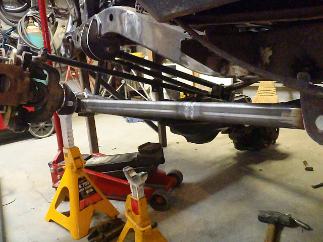 Pics Requested Passenger Drop Axle 3 Link With Panhard