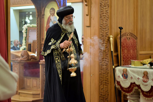 His Holiness Pope Tawadros II visit to St. Mark LA - DSC_0225.JPG