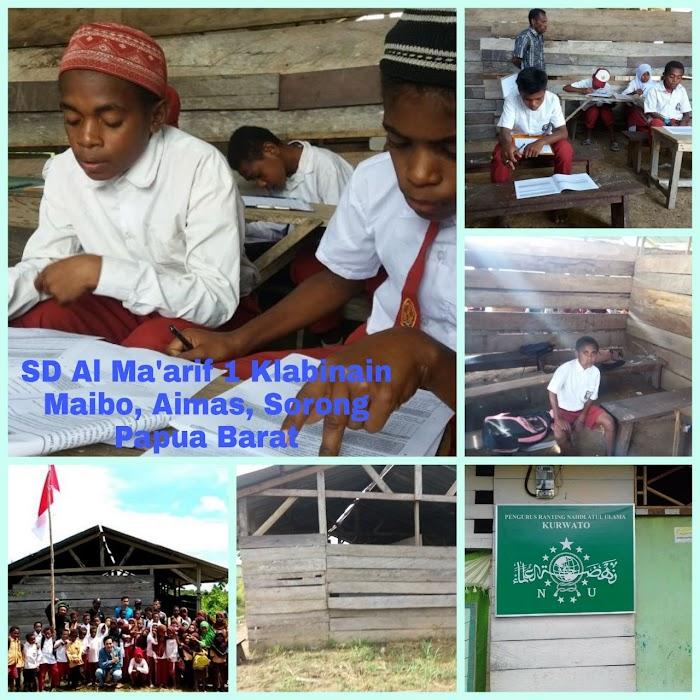 Yuk Turut Bantu Bangun SD Al-Ma'arif 1 Klabinain Di Sorong Papua yang Hampir Roboh
