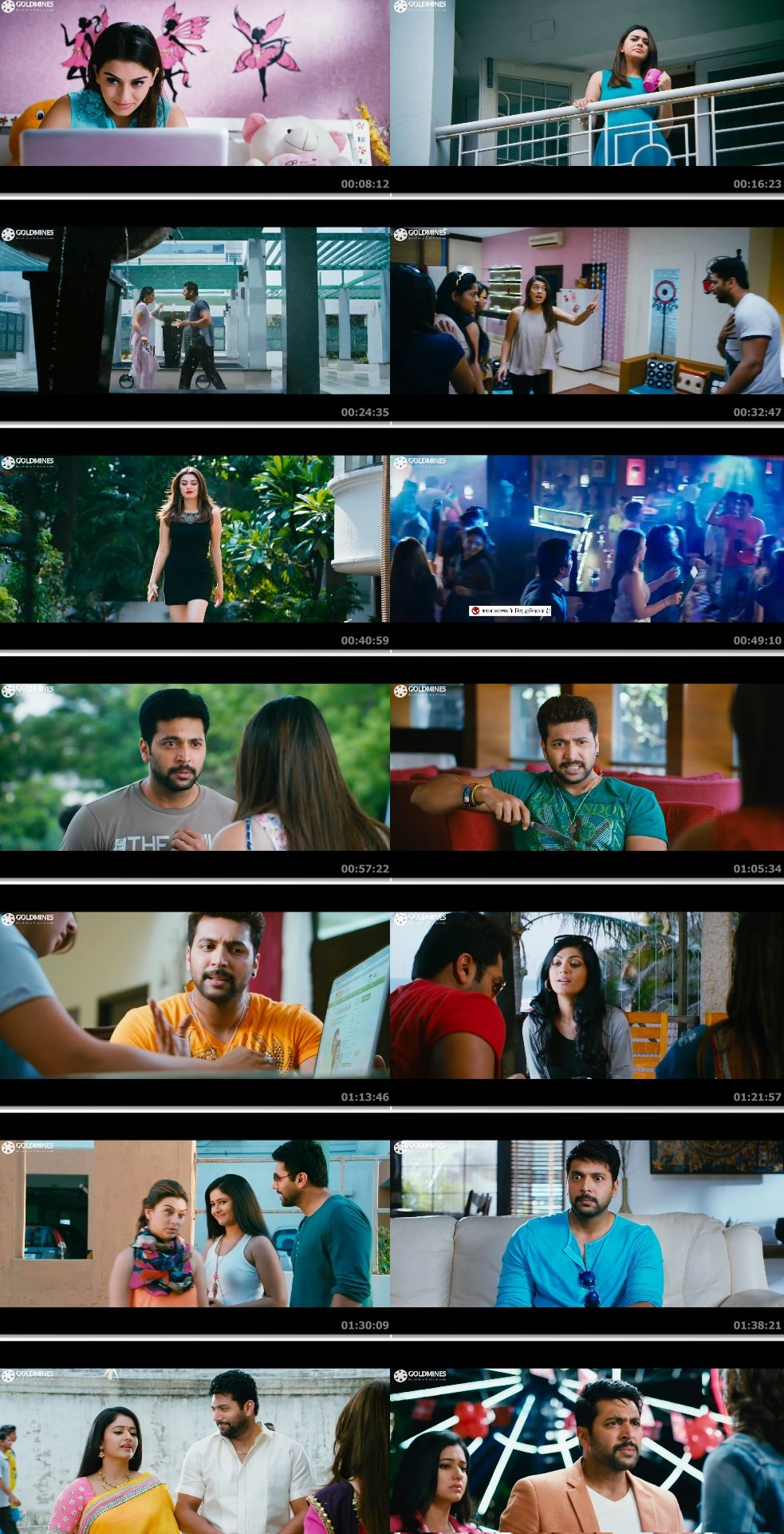 Screen Shot Of Tollywood Movie Romeo Juliet 2019 Full Movie In Hindi Dubbed Free download 1080P FHD