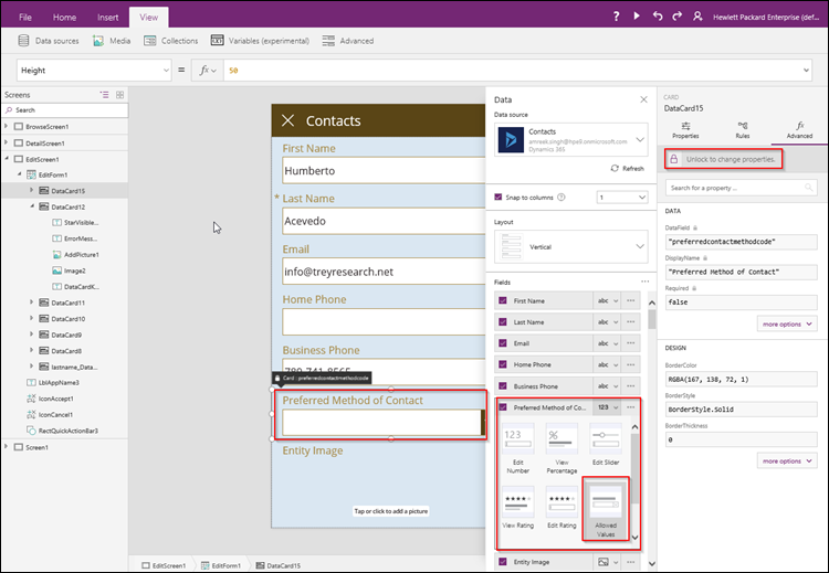 PowerApps and CRM optionsets - Microsoft Dynamics CRM Community
