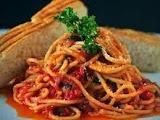 Mediterranean Salsa in Spaghetti Recipe