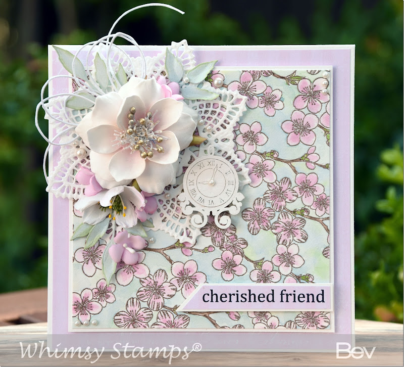 Bev-Rochester-Whimsy-Cherry-Blossom-Background-&-Hellebore-Flower-Die-&-Bold-Banners-Digi-Sentiments