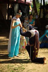 праздник рыцарей в детском саду в Гоа Арамболь
