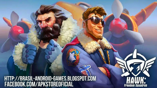 Download HAWK: Freedom Squadron v1.7.3229 APK OBB Data - Jogos Android