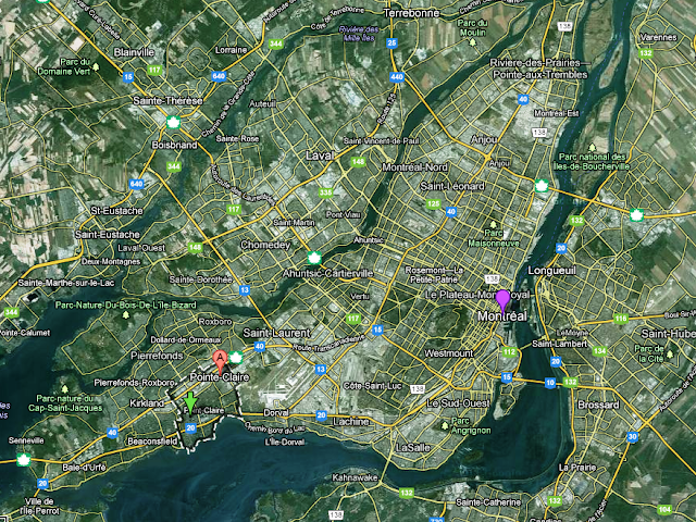 harta insula Montreal