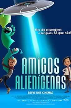 Capa Amigos Alienígenas Dublado 2019 Torrent