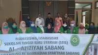 MAHASISWA STIS AL-AZIZIYAH SABANG STUDI BANDING KE MAHKAMAH SYAR'IYAH SABANG