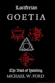 Cover of Michael Ford's Book Luciferian Goetia (The Book of Howling)