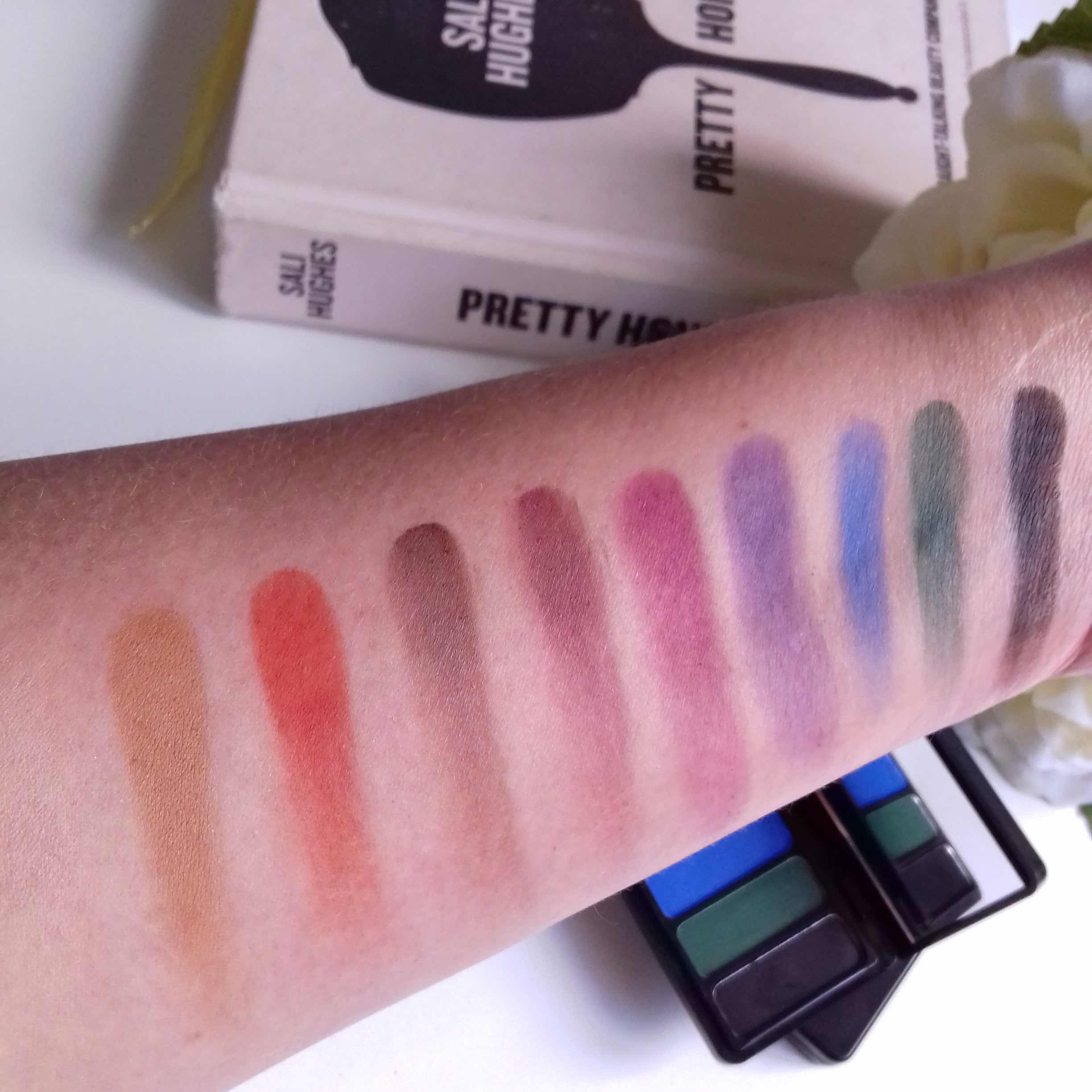 elf cosmetics, mad for mattes, matte eyeshadow, eyeshadow palette, jewel pop, vibrant, colourful, review, swatches