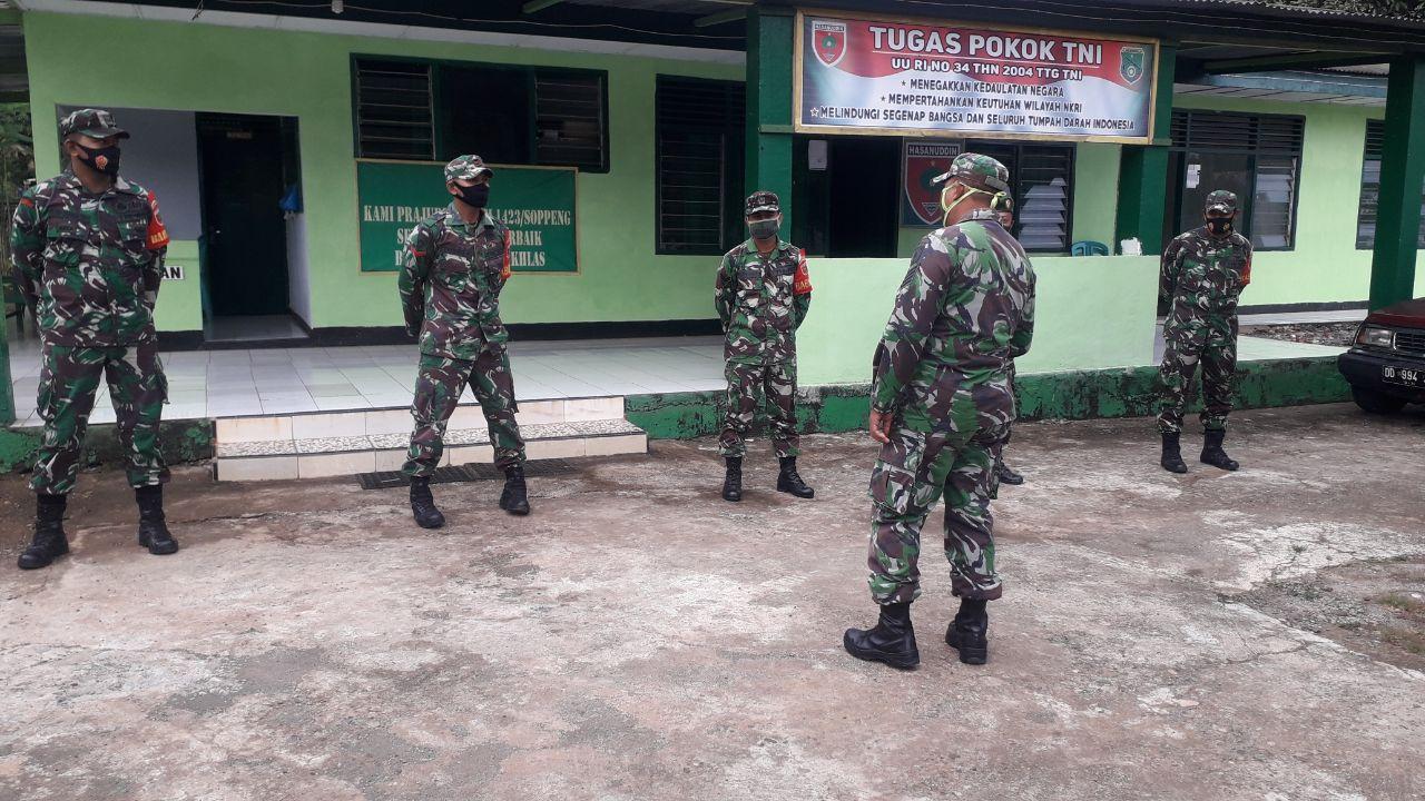 Siap Jadi Panutan, Intip Giat Babinsa 05 Marioriwawo