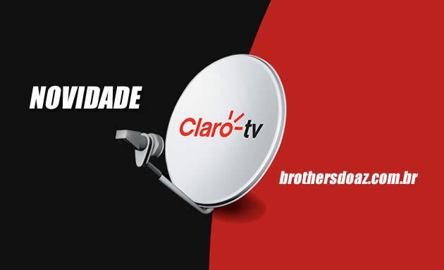 Novo Canal na Claro TV