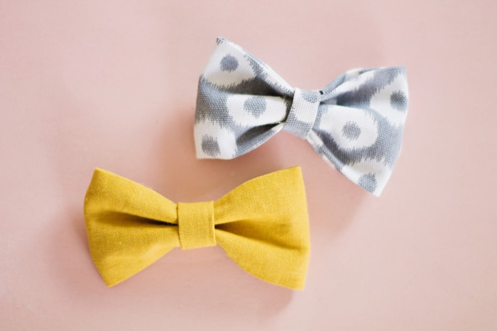 How to Make Super Easy Fabric Bows  (13)