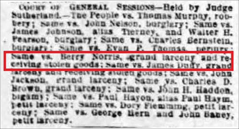 NORRIS_Berry_New York NY Herald 3 May 1875_pg 9_grand jury_cropped_annotated