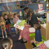 K2B  mama Julie Weerts in de klas