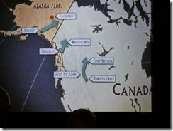 PBS Movie offered in Alaska Highway House, Dawson Creek