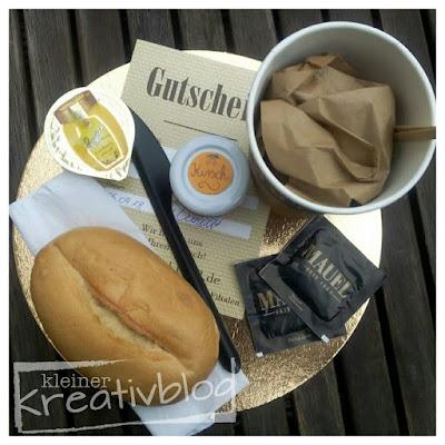 http://www.kleiner-kreativblog.de Gutschein zum frühstück