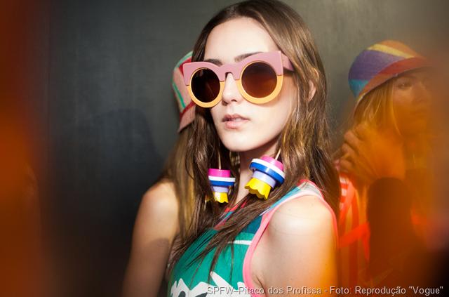 """SPFW–Pitaco dos Profissa - Foto Reprodução: """"Vogue"""""""