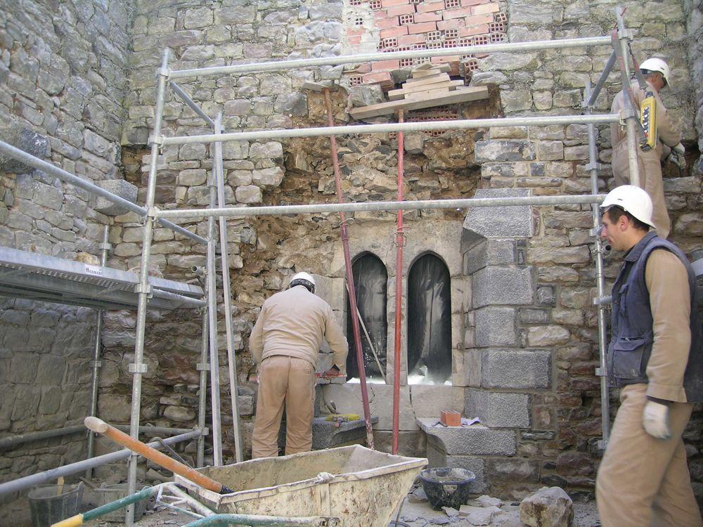 Reconstruccion Torre de Uriz - DSCN8489.JPG