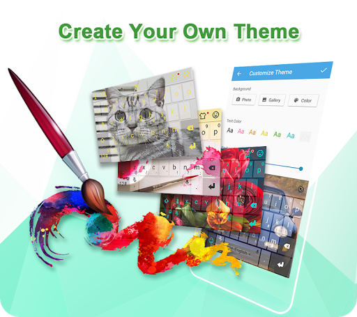 Screenshot for TouchPal Keyboard-Cute Emoji,theme, sticker, GIFs in United States Play Store