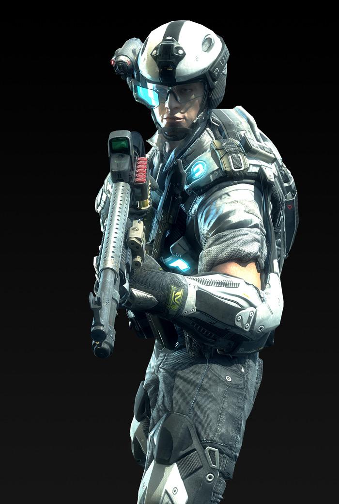 Tạo hình nhân vật trong Metro Conflict - Ảnh 4