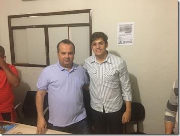 Rogério com prefeito de Santa Maria Pedro Henryque (1)
